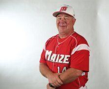 Maize coach Rocky Helm, 2018 All-Metro Baseball selection