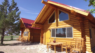 Step inside these new log cabins in Coolidge