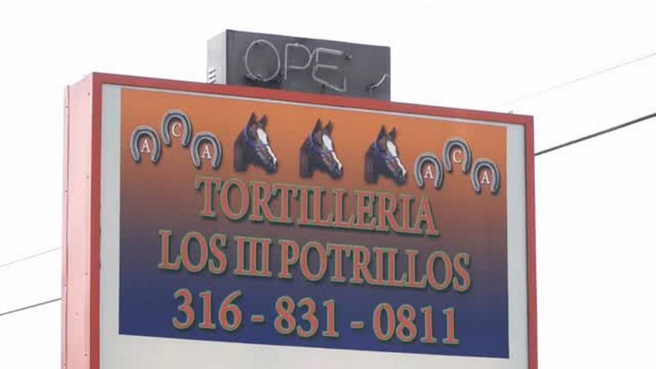 Fresh, hot, cheap tortillas always available in Wichita