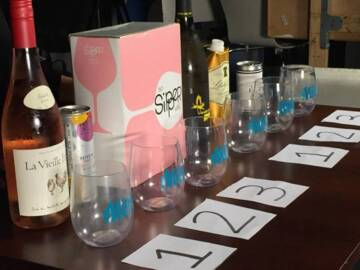 Box, bottle or can: a blind wine tasting
