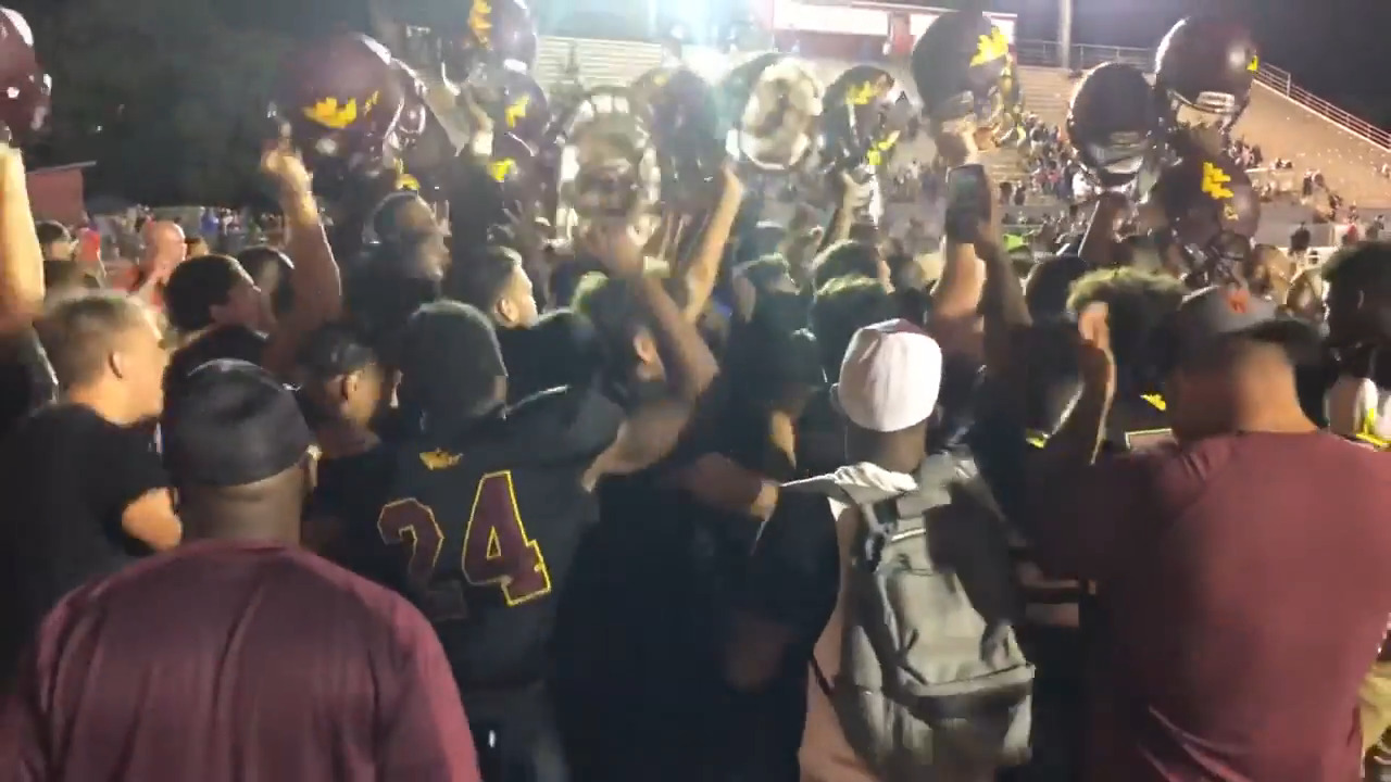Wichita West defeats Kapaun for first time in 19 years with 34-0 shutout