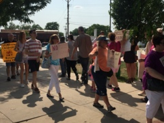 Wichitans protest immigration policies