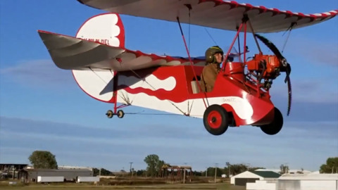 Tiny airplane once had reputation as death trap, but that doesn't deter local aviation enthusiast