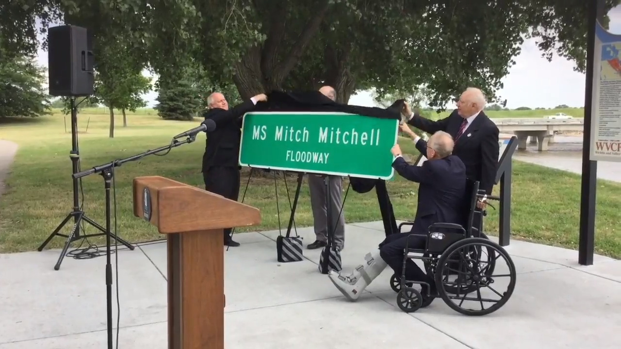 Congress dedicates floodway that saved Wichita in honor of 'Big Ditch Mitch'