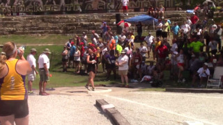 Doctors told Augusta's Abbee Rhodes not to throw the shot put. On Friday, she won a state title