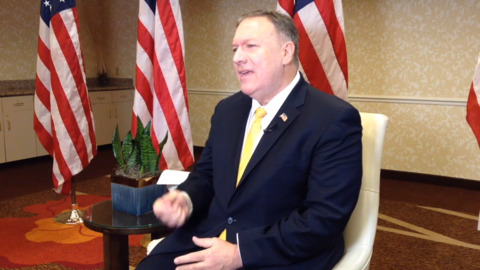 'Insane' to question U.S. credibility after Trump's Kurdish crisis, Pompeo says