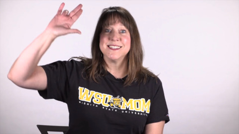 Thumbs up for the Wichita State hand gesture — if you want to keep it clean