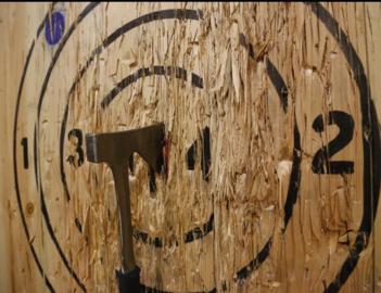 Throwing axes at Blade and Timber