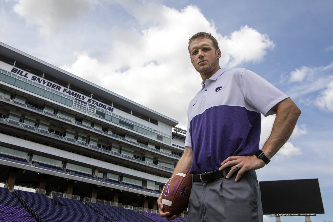 Life has changed for Collin Klein as a coach, but he's still a K-State QB at heart