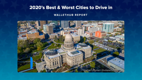 2020's best and worst cities to drive in