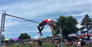 Shawnee Heights senior becomes three-time high jump state champion