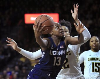 Here's why the UConn's first trip to Koch Arena was monumental for Wichita women's basketball