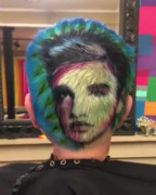 Small-town Kansas hairstylist creates Elvis Presley with hair dye