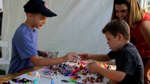New children's business fair is off limits to meddlesome moms and dads