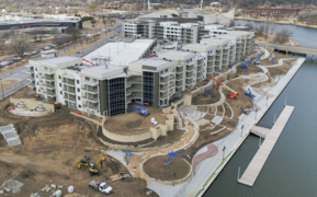 $38 million apartments bring 'energy, vibrancy' to Arkansas River