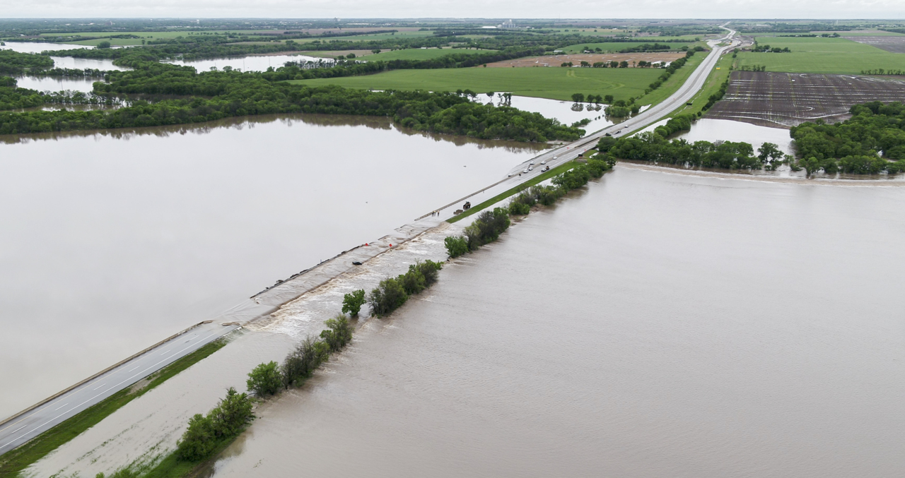 Kansas Turnpike I-35 reopens from OK after 100-year flood