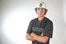 Derby sophomore pitcher Grant Adler, 2018 All-Metro Baseball selection