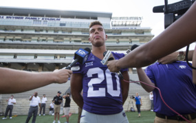 K-State's Denzel Goolsby taking an unorthodox path to become a household name