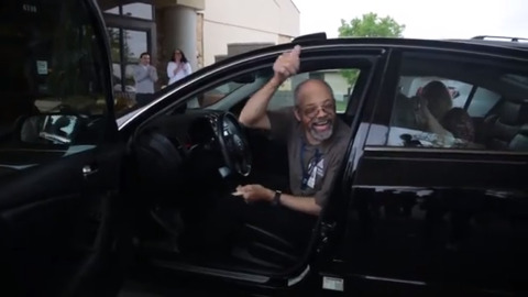 This 60-year-old biked 7.5 miles to work for years. A Wichita dealership gave him a car.