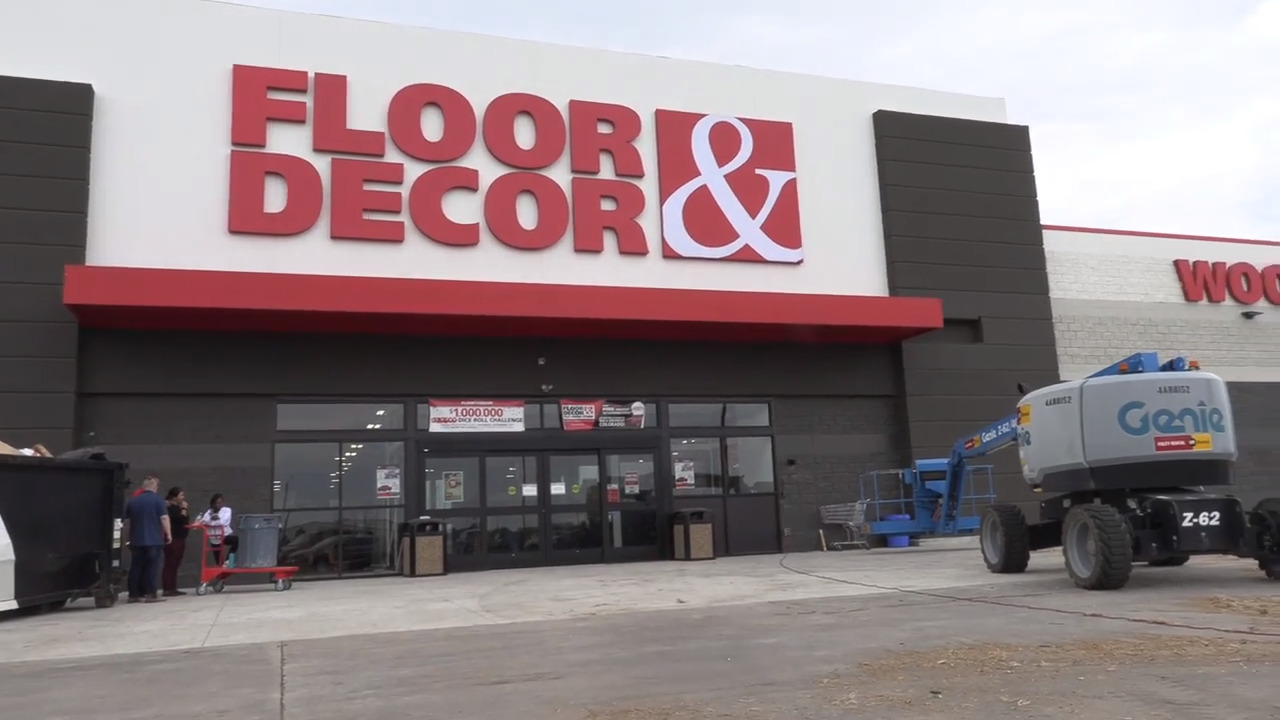 Massive new flooring and decor store to open at Kellogg and Webb Road next week