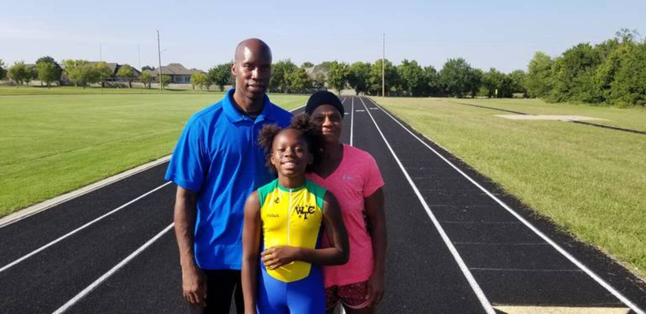Wichita's Juliah Bolden: fastest 9-year-old sprinter in US