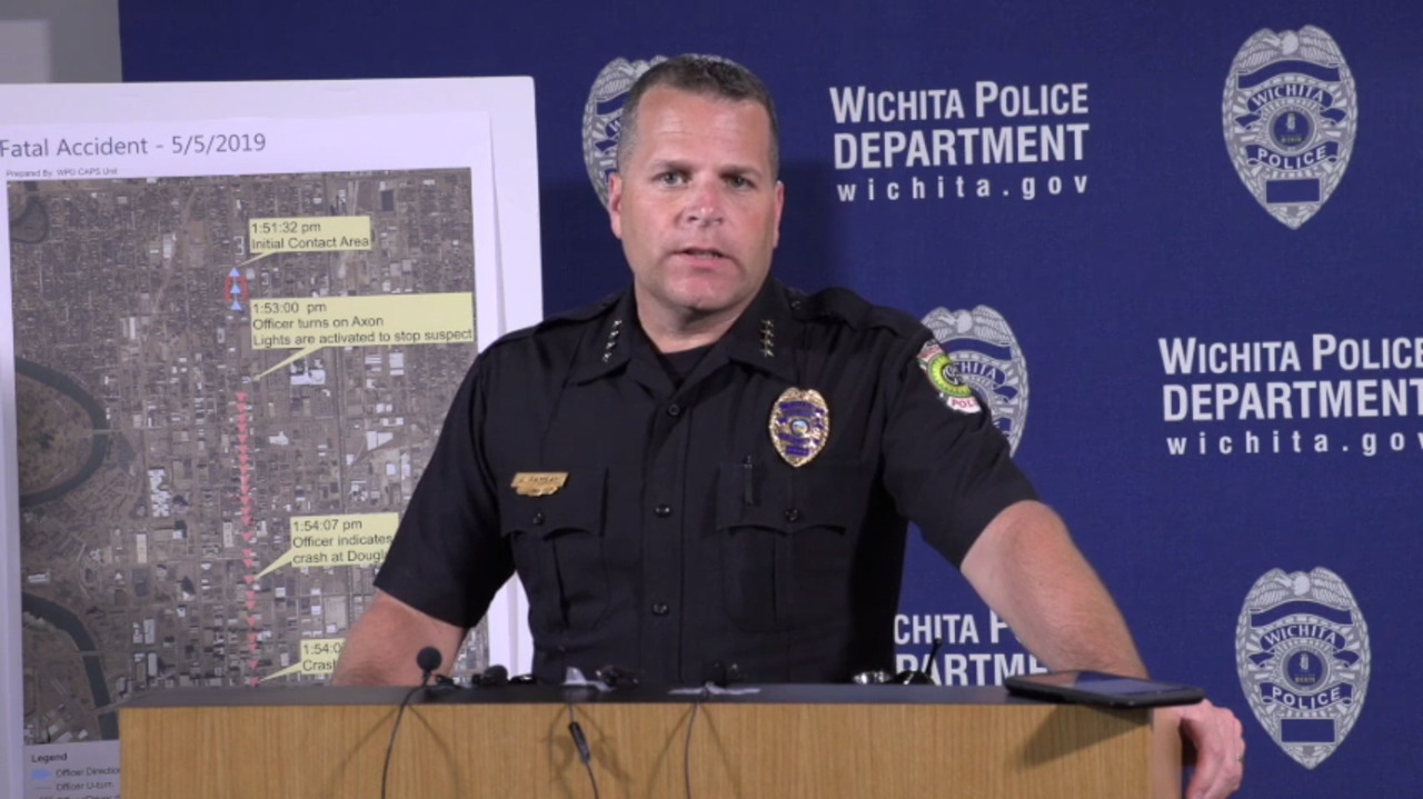 Wichita police update on downtown chase that killed two | The