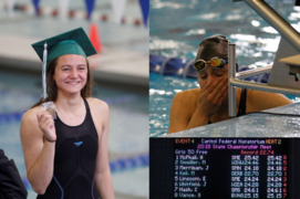 Megan Keil becomes fastest female swimmer in Kansas high school history