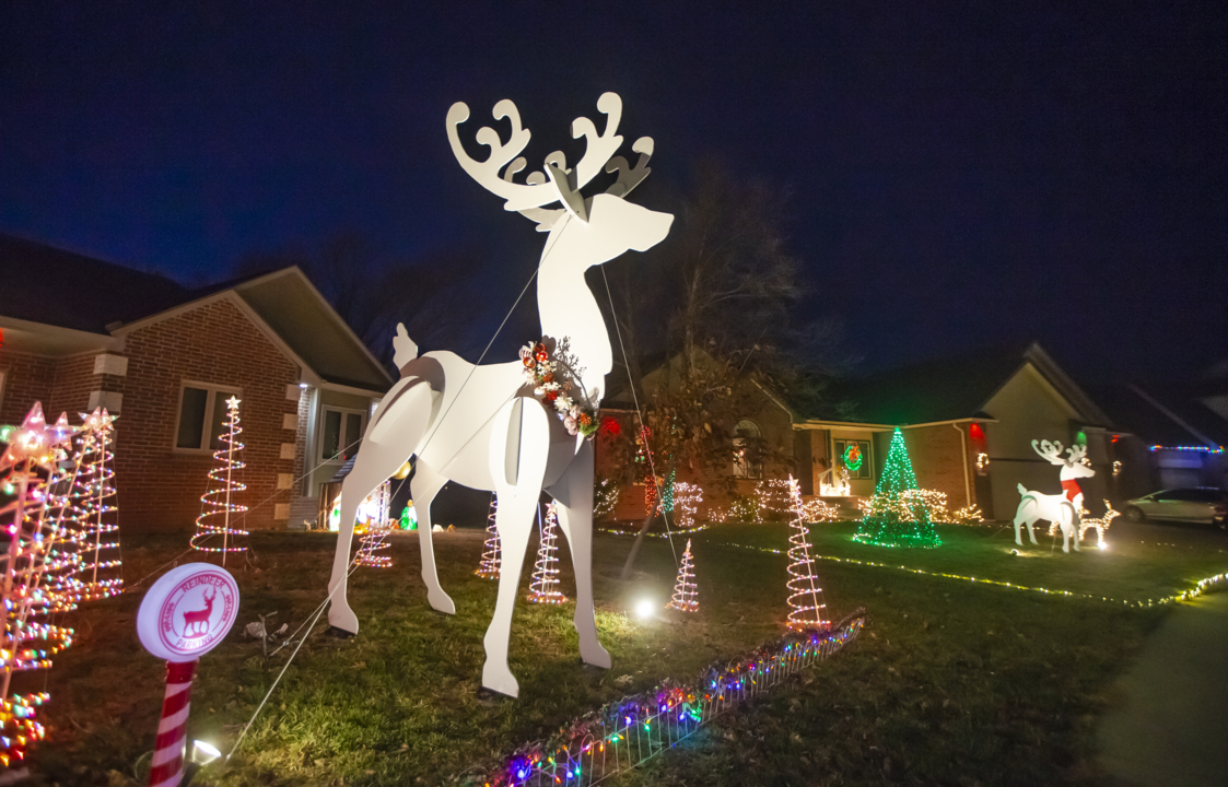 Rudolph Christmas Village.A List Of Wichita S Can T Miss Holiday Light Displays The
