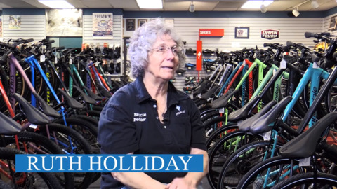 Through thousands of volunteer hours, Ruth Holliday blazes trails