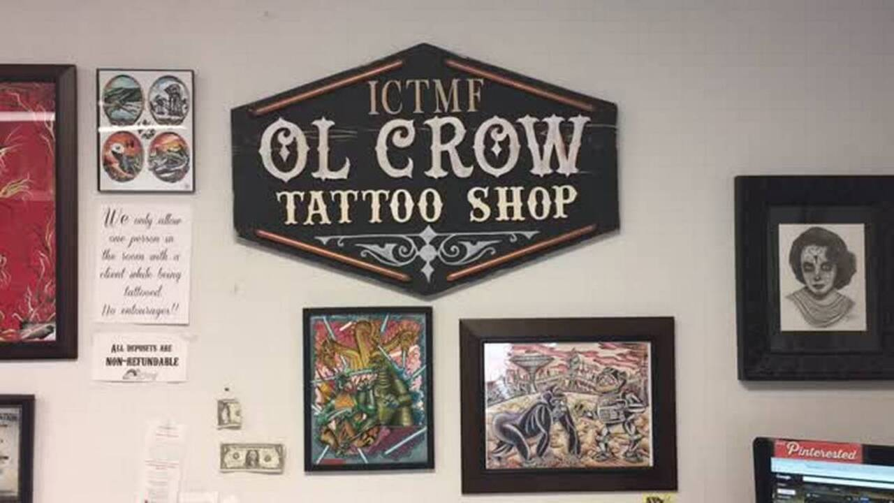 After Frustrating Search For Space Ol Crow Tattoo To Move Downtown