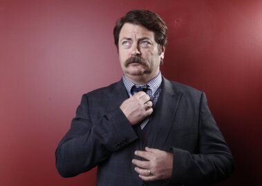 Wichita is excited to see 'Parks and Rec's' Nick Offerman. But he's more excited to see us