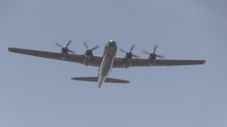 World War II B-29 pilot honored at funeral with 'Doc' flyover