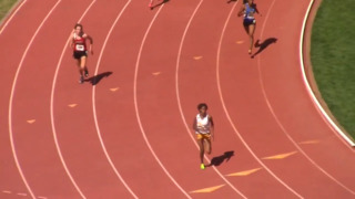 Southeast's Christal Mosley wins the Class 6A 200 and 400
