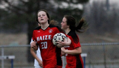 2019 All-Metro Girls Soccer Midfielder, Maize's Cammie Davis