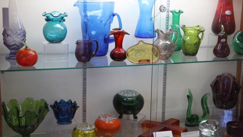 Depression glass museum's 'unfortunate accident' in Kansas leads to good fortune