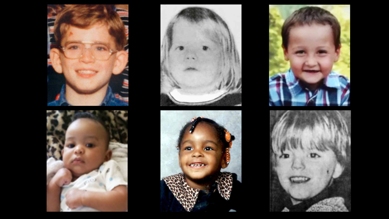 Six young Kansas children whose disappearances are unsolved