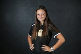 The Wichita Eagle's 2018 All-Metro Girls Soccer Team selection, Maize South's Angela Palmer