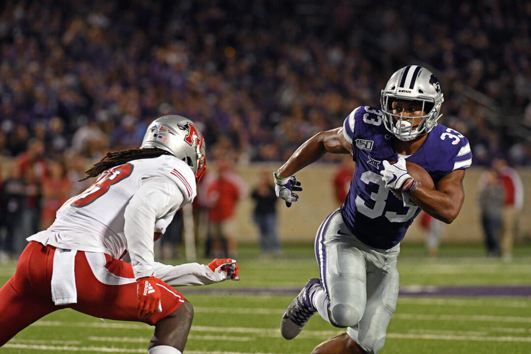 Kansas State football running back Tyler Burns feature story
