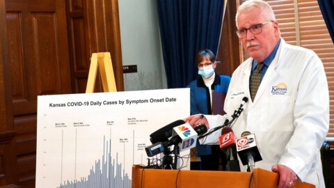 Kansas' top health official discusses COVID-19 cases
