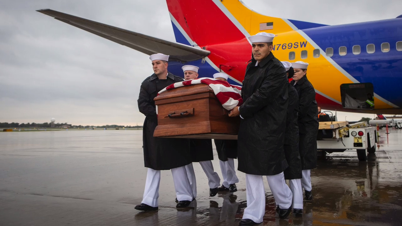 Killed in Pearl Harbor attack nearly 78 years ago, Kansas sailor's remains return home
