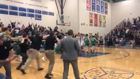 Holy War finishes with electric buzzer-beater