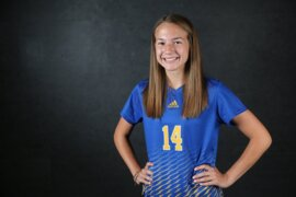 The Wichita Eagle's 2018 All-Metro Girls Soccer Team selection, Collegiate's Maddie Reed