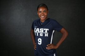 The Wichita Eagle's 2018 All-Metro Girls Soccer Team selection, East's Brynn Walker