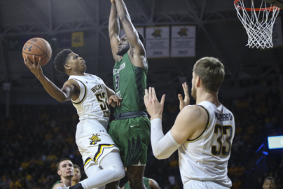 Grant Sherfield celebrates birthday with 18 points to lead Shockers to exhibition win