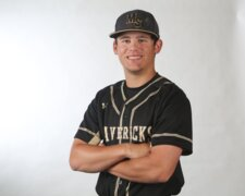Maize South second baseman Brody Hanna, 2018 All-Metro Baseball selection