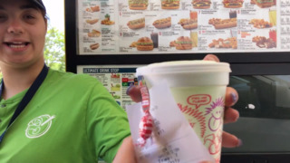Dining with Denise tries the new Sonic Dill Pickle slush