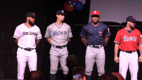 Wichita's new baseball team will be called Wichita Wind Surge