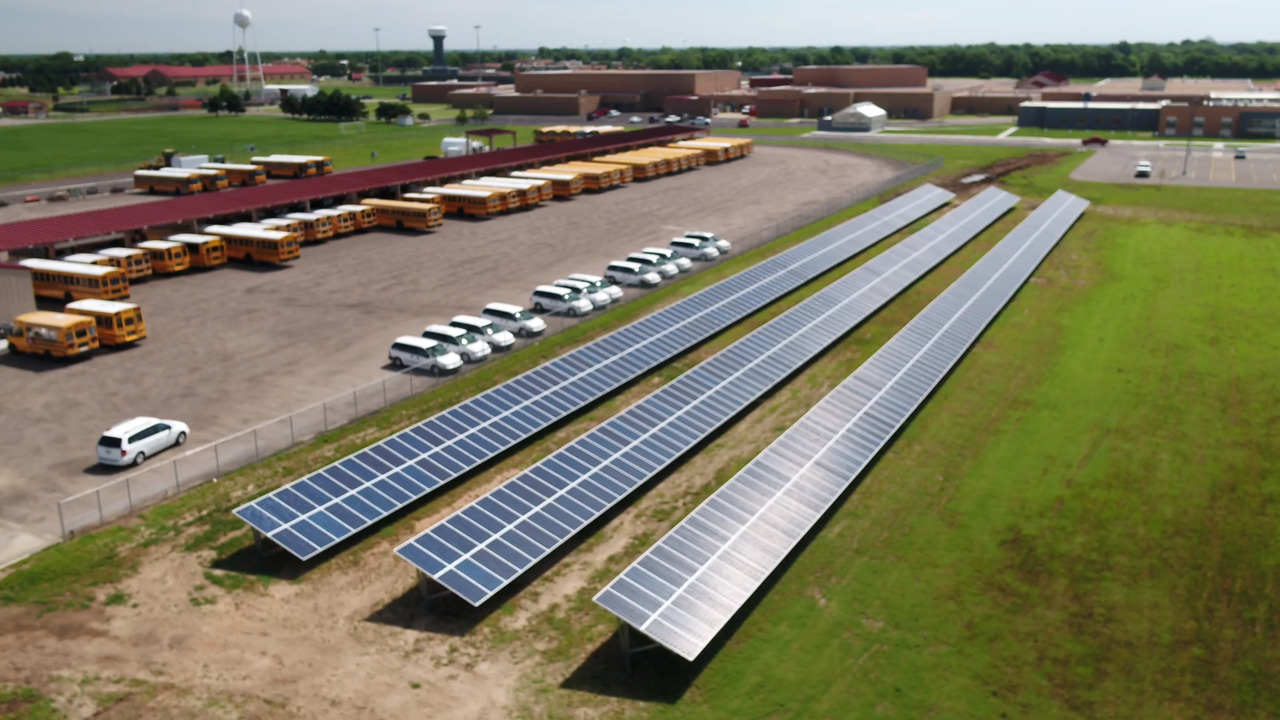 Sedgwick County school now has Kansas' largest privately-owned solar power system