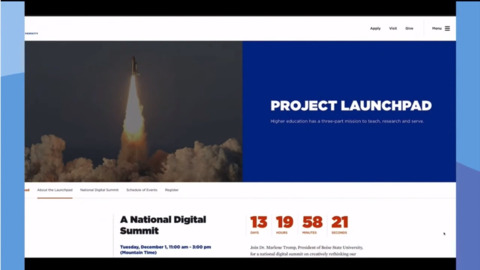 "BSU creating national digital ""launchpad"" event"