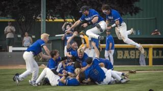 Timberline storms the field after winning 2018 Idaho 5A state baseball title